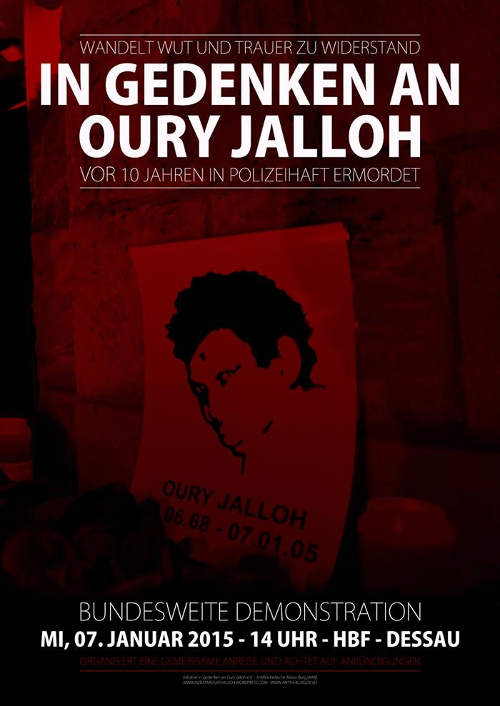 Gedenken an Oury Jalloh